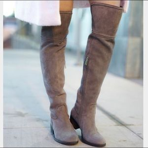Vince Camuto Baldwin Suede Riding Boots